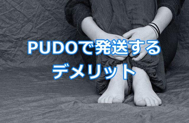 メルカリの商品をPUDOで発送するデメリット